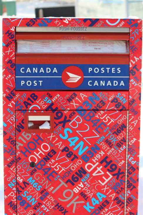 Иллюстрация, Почта Канады (c) NewsRu.Ca