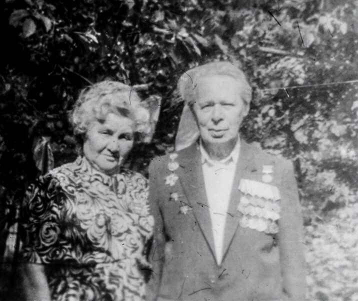 Головей Михаил Эбертович и Александра Ивановна
