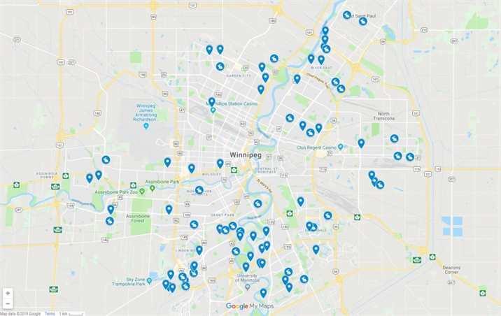 Garage Sales map 10-12 May