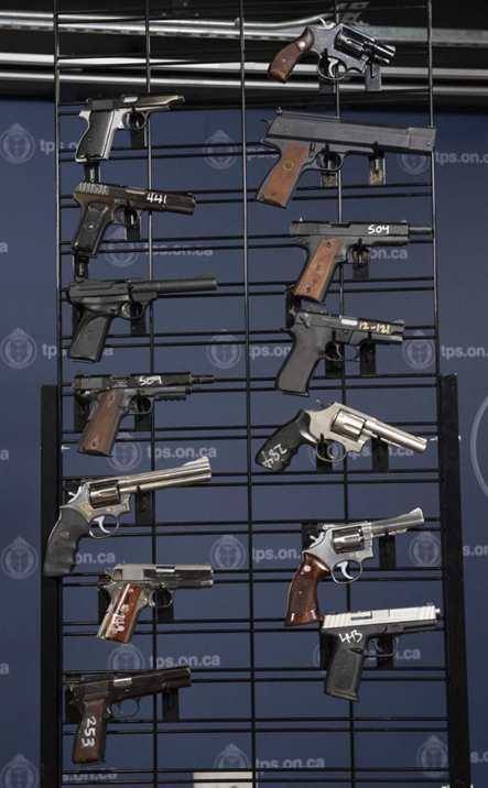 Оружие перед уничтожением