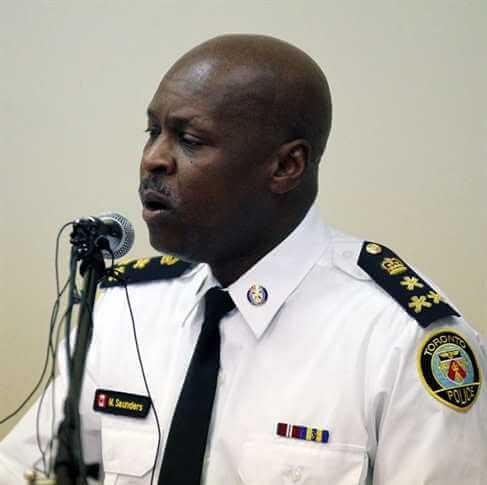 начальник полиции Торонто Марк Сандерс