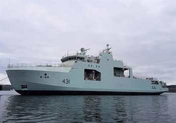 arctic ship Harry DeWolf