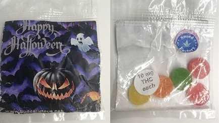 candy with marijuana